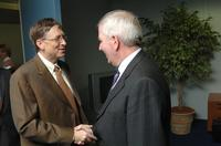 Bill Gates and Charlie McCreevy