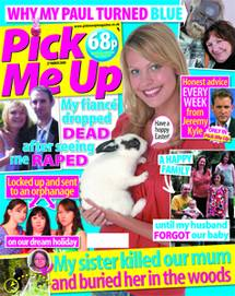 Cover of Pick Me Up magazine